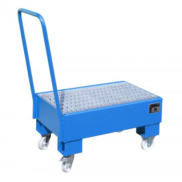 FA AW 60-1 SR, lackiert - lichtblau 800x500x415mm, 2 x 60-l-Fass, 61 Liter