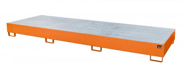 AW 1000-3, lackiert - gelborange 3850x1300x340mm, 3 x 1000-l-IBC, 1000 Liter