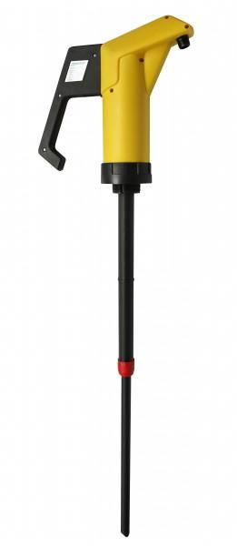 JP-04-1 für Säure (FKM) 0,3 l/Hub., Saugrohr 500–900 mm, 34 mm Durchmesser