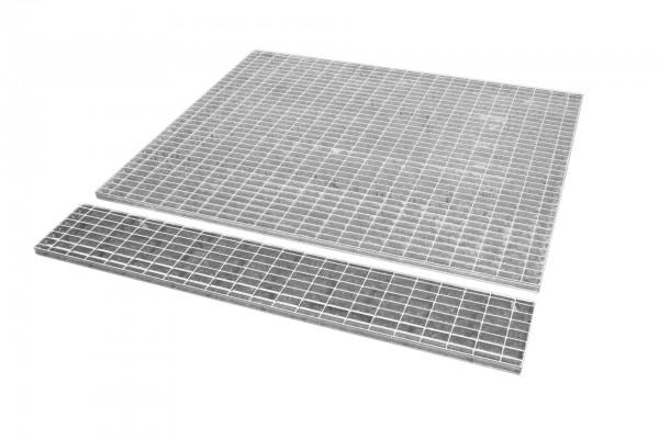 Gitterrost passend für VAW 1000, Edelstahl 1440x1435x30mm