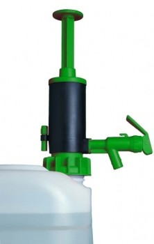 JP-07-3 für leichte Säuren (FKM) Wasser 20 l/min, ÖL SAE 30: 9 l/min., Saugrohr 1000 mm, 31 mm Durc