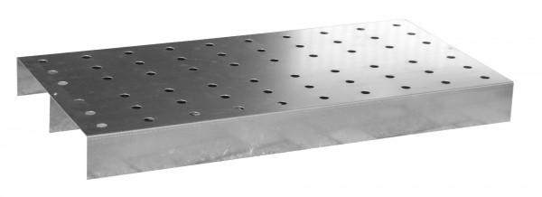 Lochblech-Rost passend für KGW 1, Edelstahl 930x360x55mm