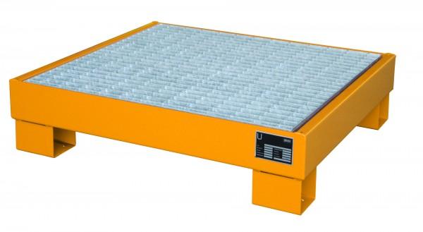 AW 60-2/M, lackiert - gelborange 900x800x220mm, 4 x 60-l-Fässer, 61 Liter