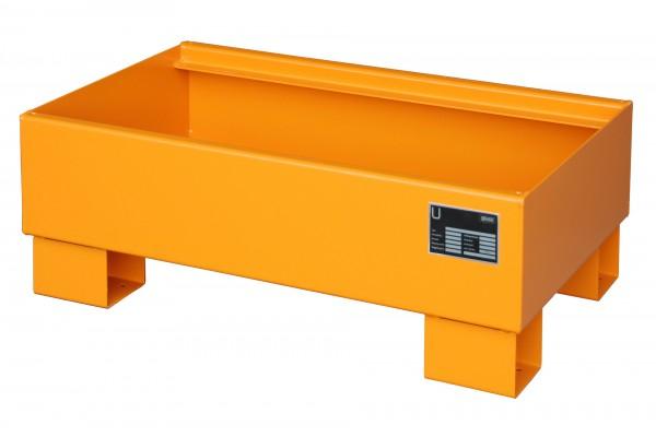 AW 60-1, lackiert - gelborange 800x500x290mm, 65 Liter