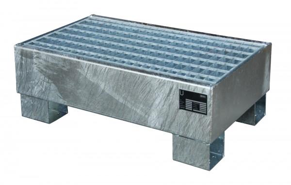 AW 60-1/M, feuerverzinkt 800x500x290mm, 2 x 60-l-Fässer, 61 Liter