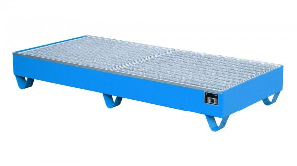 AW 2050, lackiert - lichtblau 1800x800x275mm, 3 x 200-l-Fässer, 202 Liter