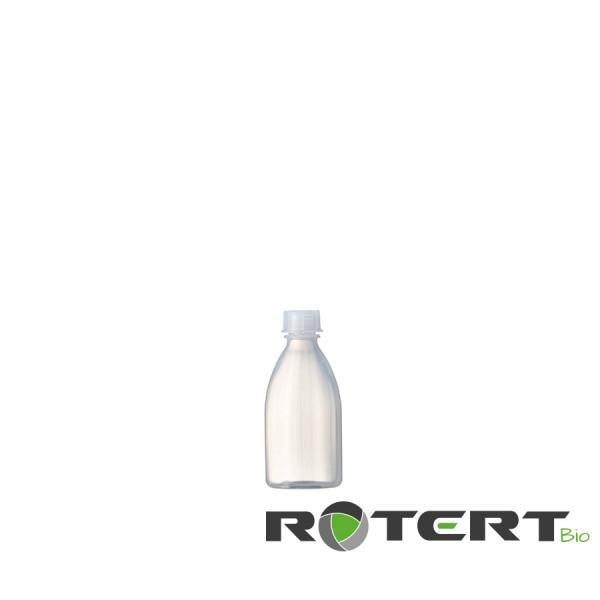 Bio-Enghalsflasche rund, GREEN-PE natur, 100ml kompl. mit Schraubverschluss GL18