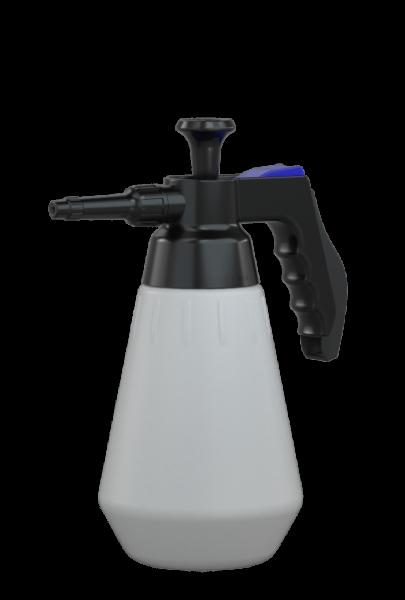 Druckpumpzerstäuber Profi 1,5L, PA, expert-EPDM blau/schwarz, ErgoGrip Behälter PE-HD weiß, Sprühkop