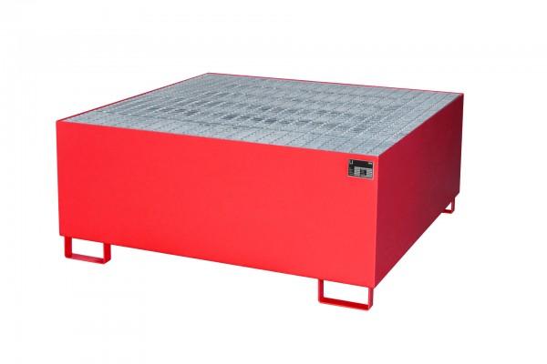 AW 1000, lackiert - feuerrot 1460x1460x620mm, 1 x 1000-l-IBC, 1000 Liter