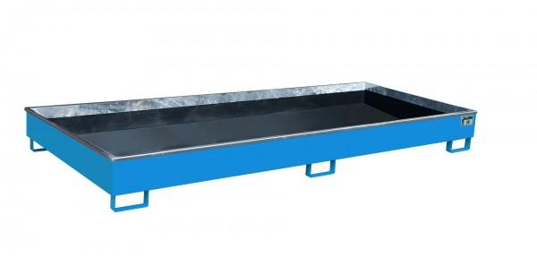 RW 3300-2 PE, lackiert - lichtblau 3265x1315x270mm, Trägerlänge 3300mm, 540 Liter