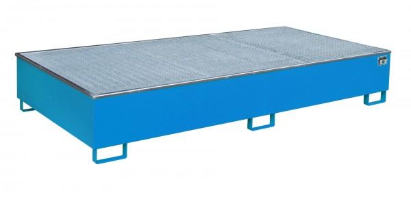 RW-GR 2700-3 PE, lackiert - lichtblau 2665x1315x440mm, Trägerlänge 2700mm, 1000 Liter