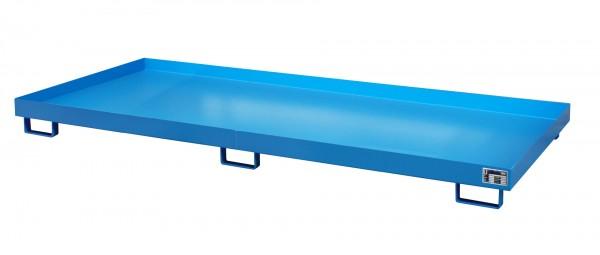 RW 3300-1, lackiert - lichtblau 3250x1300x190mm, Trägerlänge 3300mm, 240 Liter