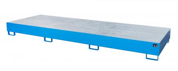 AW 1000-3, lackiert - lichtblau 3850x1300x340mm, 3 x 1000-l-IBC, 1000 Liter