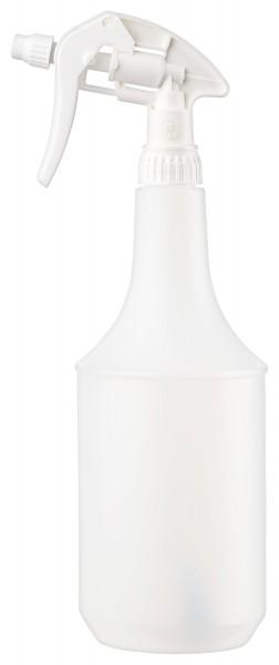 Sprühflasche 1000 ml PE-HD natur mit Sprühkopf Canyon CHS-3ANS