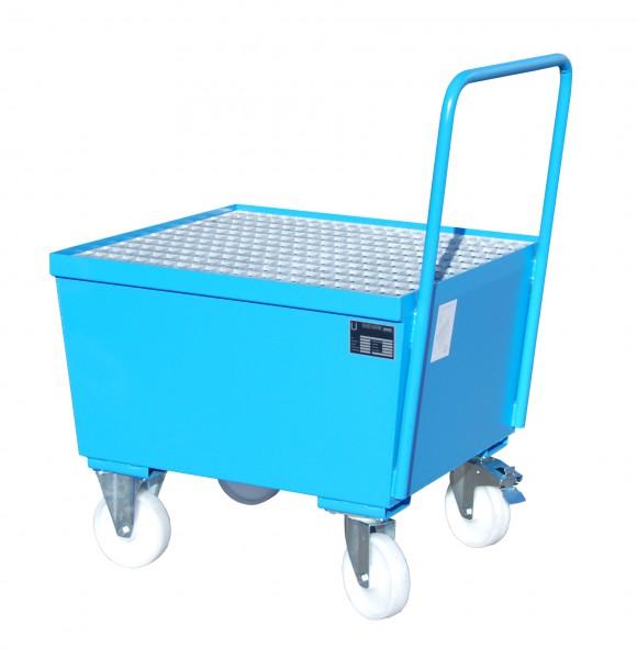 AW-F 1, lackiert - lichtblau 800x800x695mm, 1 x 200-l-Fass, 215 Liter