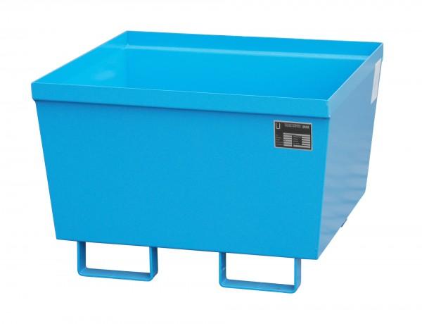 AO-1, lackiert - lichtblau 800x800x545mm, 229 Liter