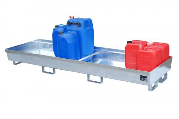 AO-4/B, feuerverzinkt 2400x800x285mm, 280 Liter
