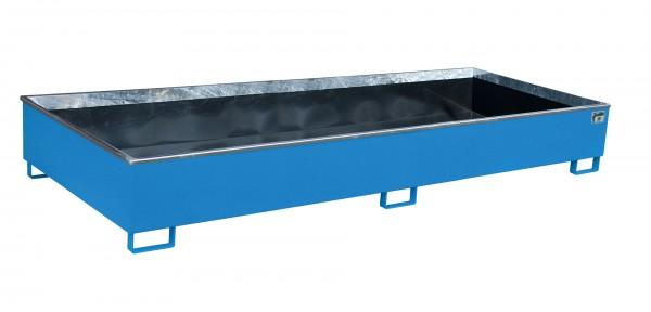 RW 3300-3 PE, lackiert - lichtblau 3265x1315x385mm, Trägerlänge 3300mm, 1000 Liter