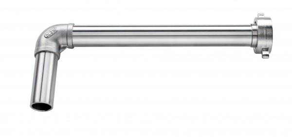 Auslaufbogen Durchmesser 25 mm für JP-05 mit PTFE-Dichtung und Überwurfmutter
