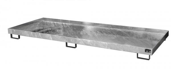 RW 3300-1, feuerverzinkt 3250x1300x190mm, Trägerlänge 3300mm, 240 Liter
