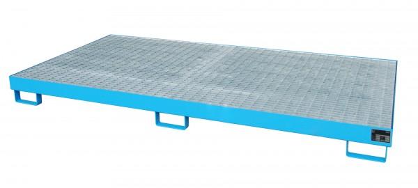 RW-GR 2700-1, lackiert - lichtblau 2650x1300x210mm, Trägerlänge 2700mm, 240 Liter