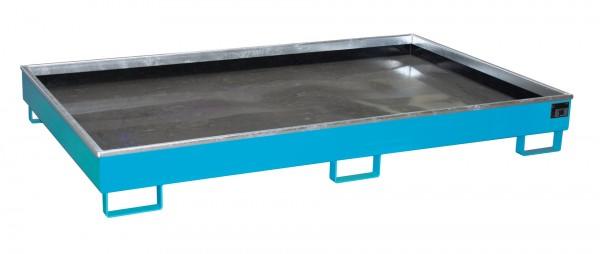 RW 2200-2 PE, lackiert - lichtblau 2165x1315x510mm, Trägerlänge 2200mm, 1000 Liter