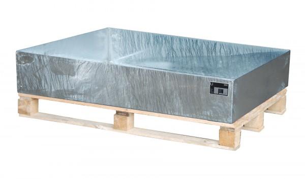 AW 2009, feuerverzinkt 1200x800x260mm, 224 Liter