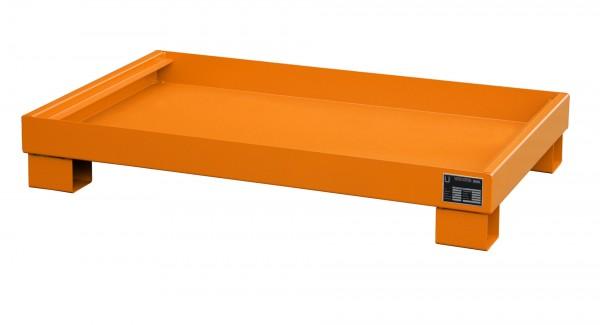 AW 60-3, lackiert - gelborange 1300x800x205mm, 84 Liter