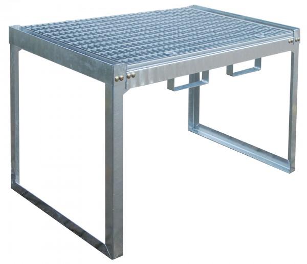 Kleingebinderegal FRE-G2/M, feuerverzinkt 1310x800x780mm