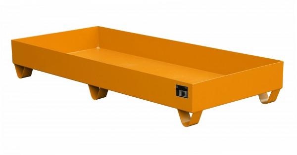 AW 2048, lackiert - gelborange 1800x800x275mm, 217 Liter