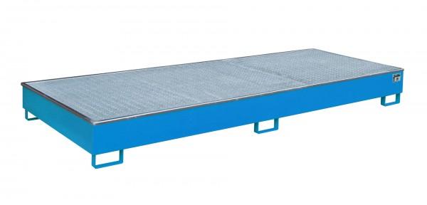 RW-GR 3300-2 PE, lackiert - lichtblau 3265x1315x270mm, Trägerlänge 3300mm, 540 Liter