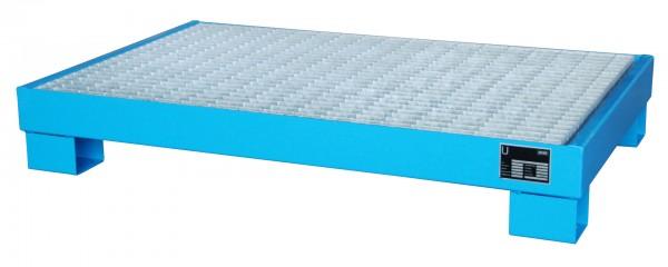 AW 60-3/M, lackiert - lichtblau 1300x800x205mm, 6 x 60-l-Fässer, 74 Liter