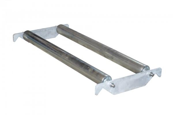 Steckbare Rollenauflage, verzinkt 320x490x80mm