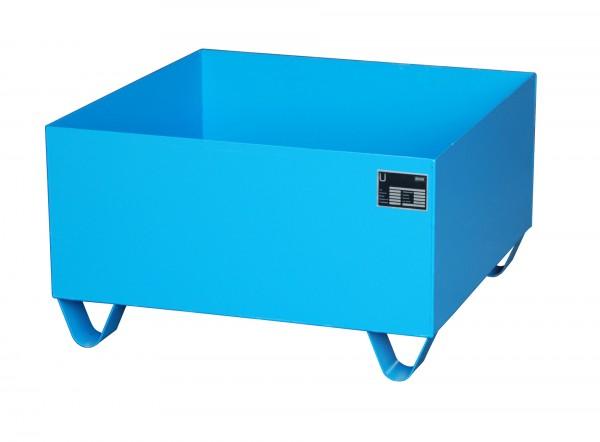 AW 2000, lackiert - lichtblau 800x800x460mm, 210 Liter